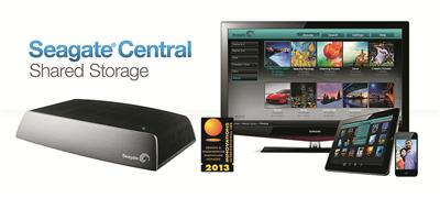 Seagate Central Shared Storage | CES 2013 screenshot