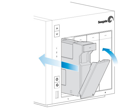 seagate nas pro 2 bay 4 bay 6 bay hard drive maintenance Hard Drive Cylinder insert the hard drive tray into the nas pro s bay push it into the bay as far as it will go before closing the tray handle