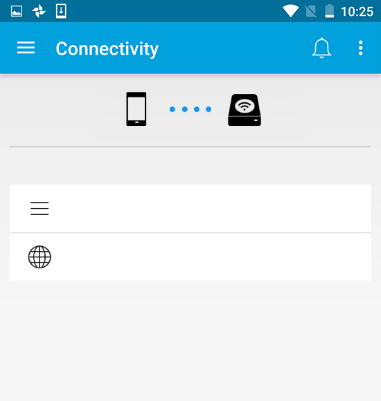 Seagate Media App - Android - Connecting Mobile and Storage