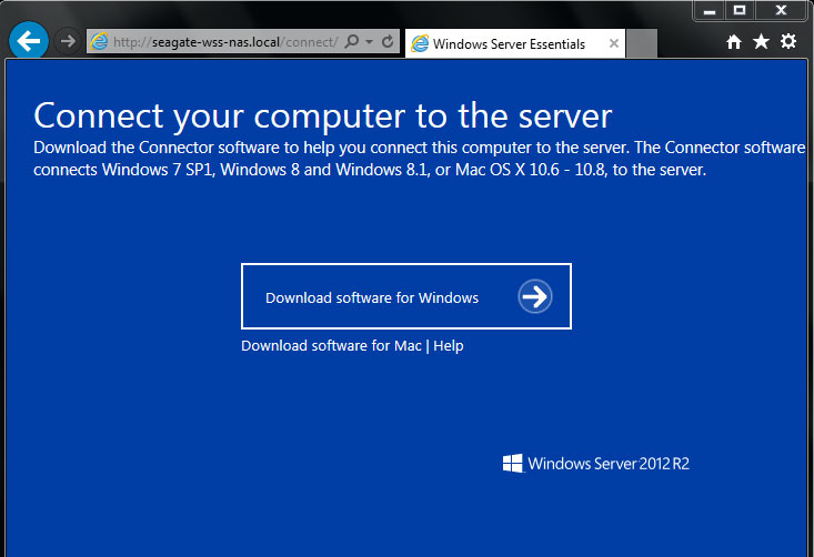 Seagate WSS NAS Administration Guide - Windows Server