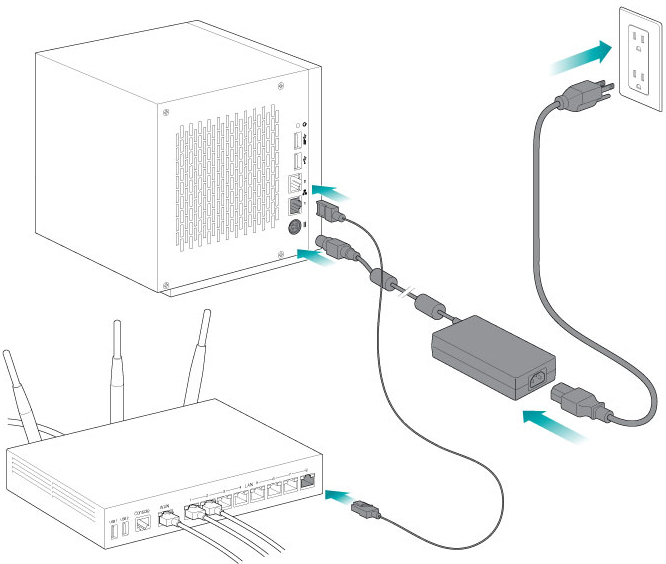 seagate wss nas 2 bay 4 bay 6 bay user manual setup rh seagate com Storage Area Network Diagram San Diagram