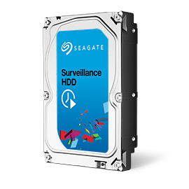 Reliable Video Surveillance Storage Drives (3TB, 4TB, 5TB, 6TB drive capacities)