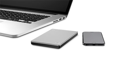Backup Plus Slim Portable Drive for Mac Product Bob