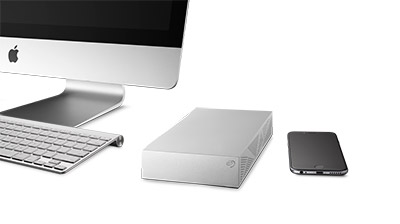 Seagate® Backup Plus desktop drive for Mac BOB