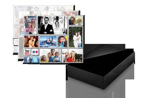 Hard Disk Seagate® Backup Plus Desktop