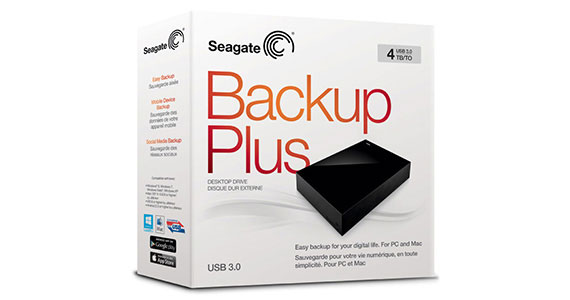 Seagate® Backup Plus Desktop Drive