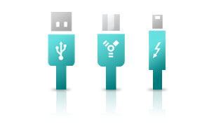 USB 2.0 plug-and-play
