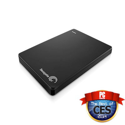 Backup Plus Slim Portable Drive award badge