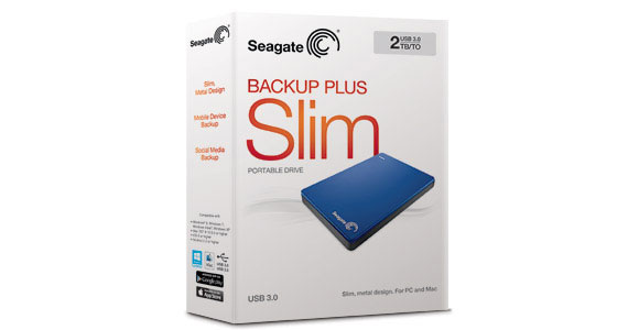 Backup Plus Slim Portable Drive