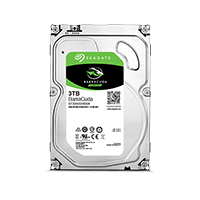 Seagate BarraCuda 3TB 3.5-inch desktop hard drive product image