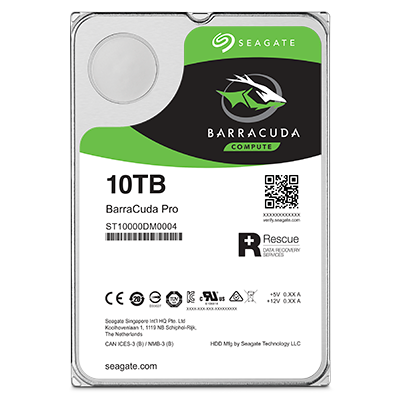 Seagate 1 TB BarraCuda Disque dur interne 3.5 7200 RPM, 64 MB Cache, SATA 6 Gb//s, Up to 210 MB//s, ST1000DMZ10//DM010