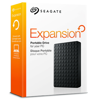 What's In the Box? Seagate® Expansion portable hard drive; USB 3.0 ...