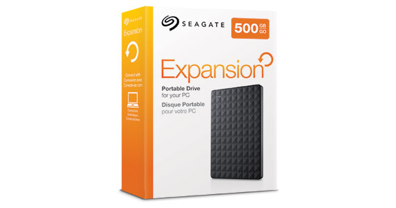 Expansion Portable Hard Drive Instant Storage Seagate
