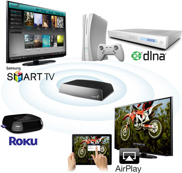 Store DVDs in Seagate Central for streaming