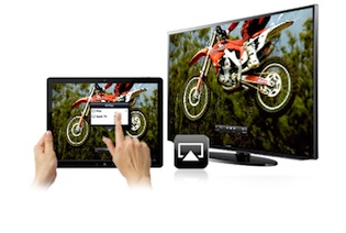 moto partagée par AirPlay