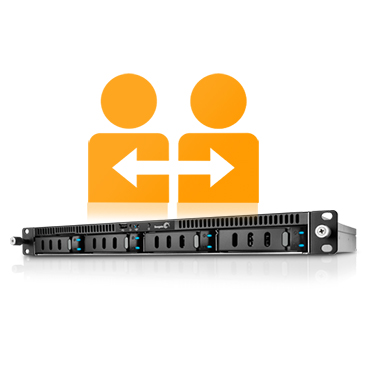 Business Storage 4-Bay Rackmount NAS
