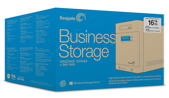 Business Storage Windows<sup>&reg;</sup> Server 4-Bay NAS