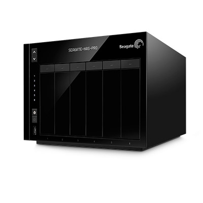 Business NAS Pro 6-TB Hero Photo