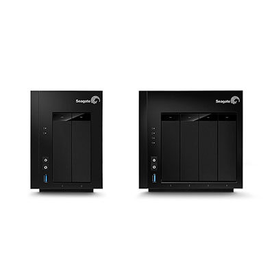 Seagate Nas Family Front Angle