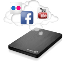 slim pc cloud social media icons