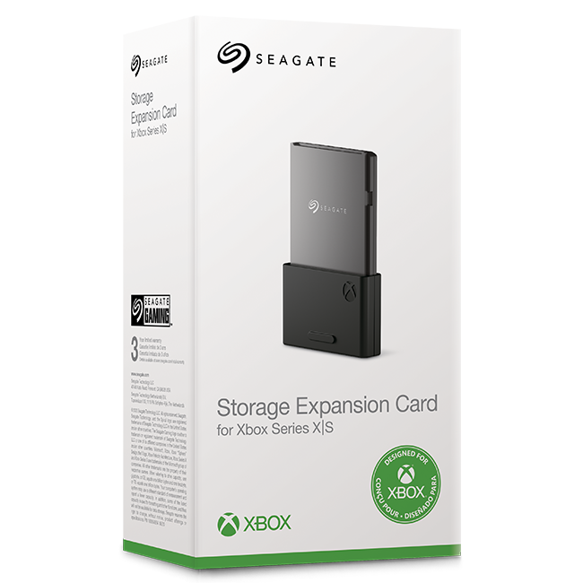 Storage Expansion Card For Xbox Series X S Seagate Us