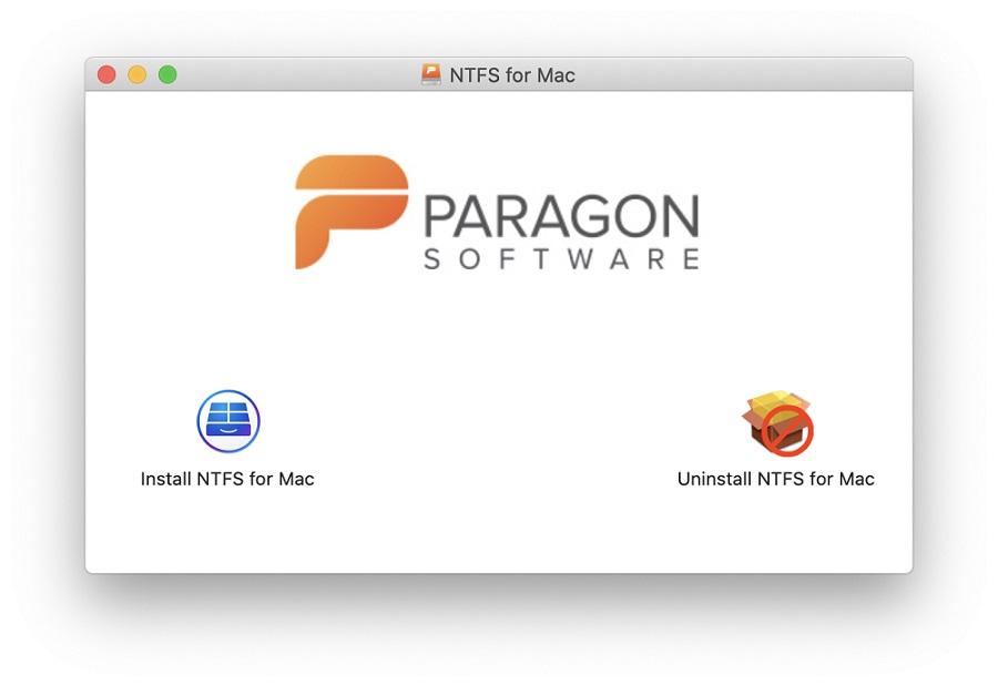 Paragon ntfs driver for mac