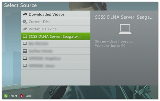 Using DLNA compatible devices with your Seagate Central