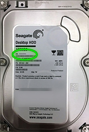 Find Your Model And Serial Numbers Seagate Us