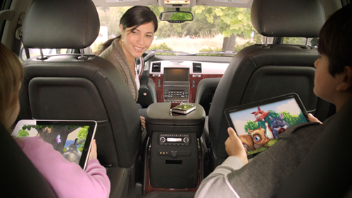Seagate Satellite Wireless stores up to 500GB of media for sharing and streaming while on the road.