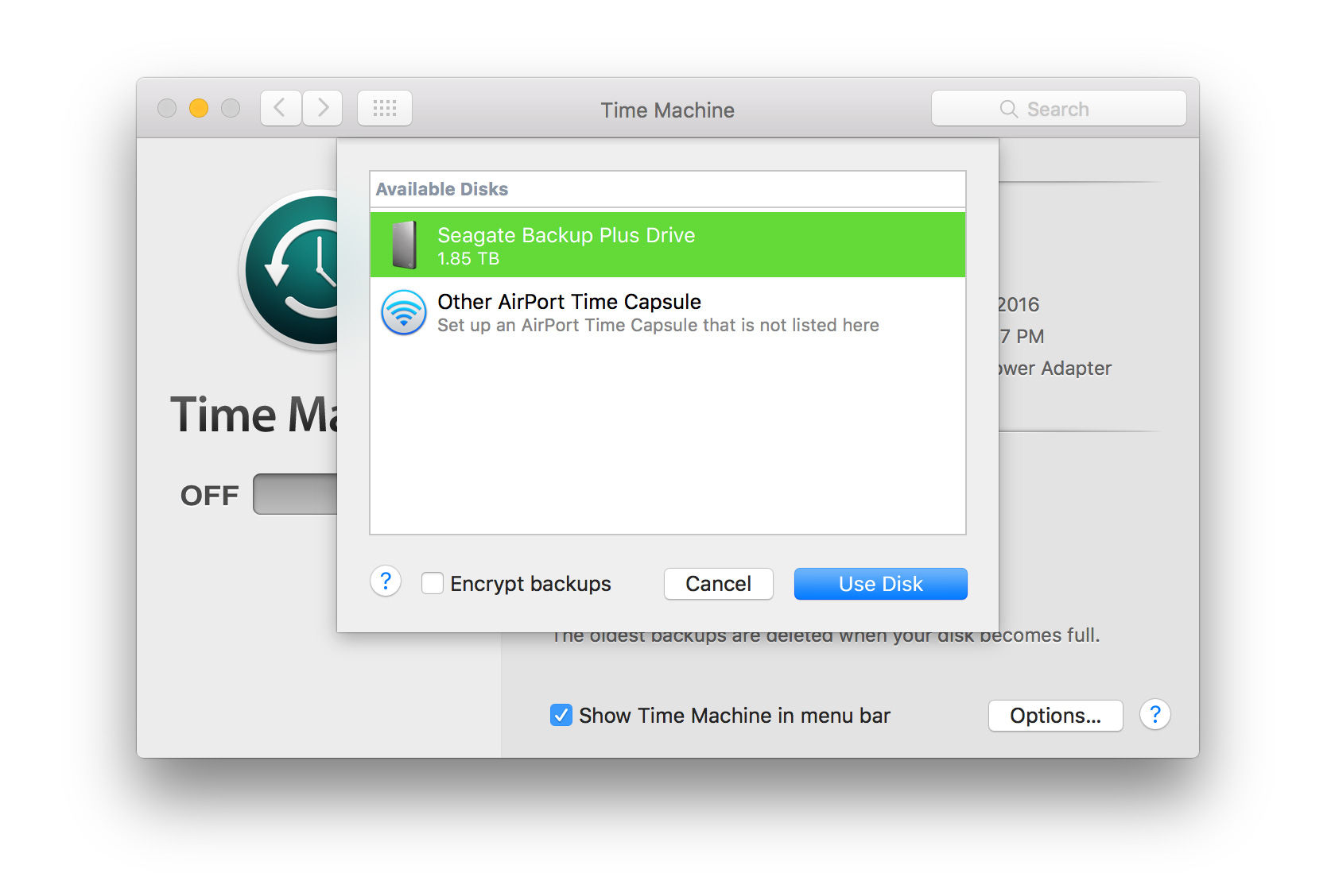 delete multiple backups from time machine
