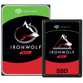 Seagate IronWolf Hard Drive & SSD product images
