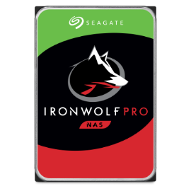 Seagate IronWolf Pro NAS hard drive product image