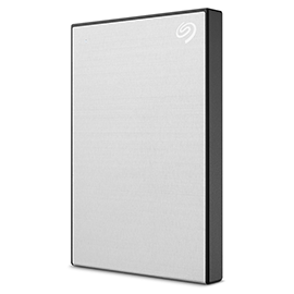 Seagate Backup Plus Slim 2TB Portable External Hard Drive USB 3.0 Silver