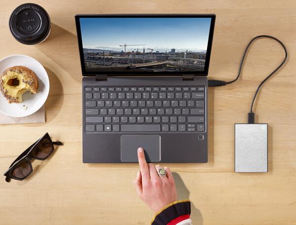 Seagate 1TB Backup Plus Ultra Touch USB 3.0 External Hard Drive Black