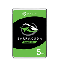 Seagate BarraCuda 5TB 2.5-inch laptop hard drive product image