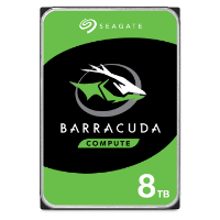 Seagate BarraCuda 8TB 3.5-inch desktop hard drive product image