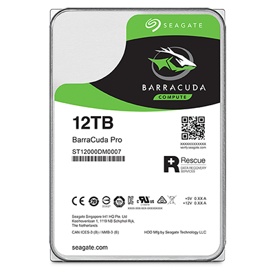 ... for snappy performance and load times when gaming or performing heavy workloads. BarraCuda Pro also comes equipped with a 5-year limited warranty.