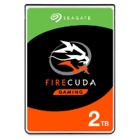 Seagate FireCuda 2TB 2.5-inch gaming hard drive product image