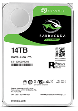 8e016d7f7 We understand your unique data storage challenges, and crafted BarraCuda  Pro 14 TB 3.5-inch desktop hard drives to help you achieve your goals.