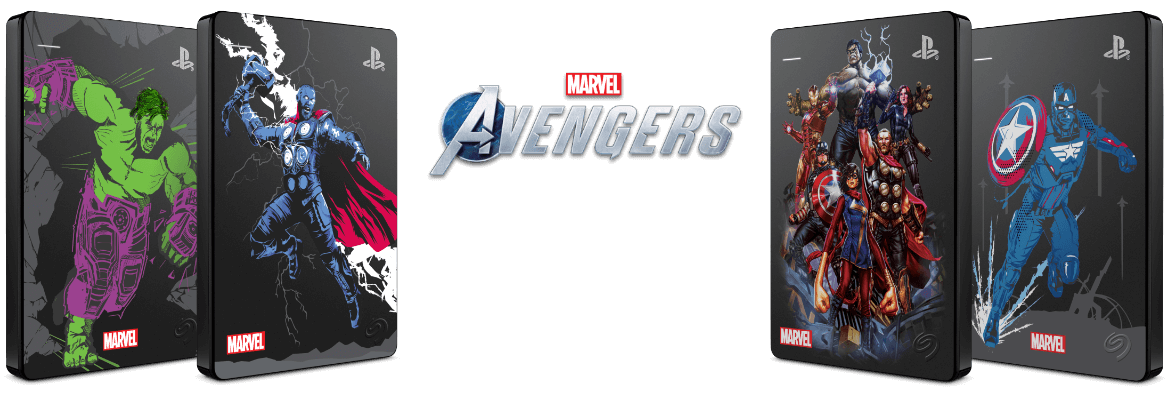 Marvel Avengers Drives
