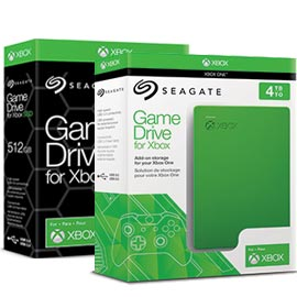 NEW Seagate Game Hard Drive for Xbox One 4TB Green STEA4000402