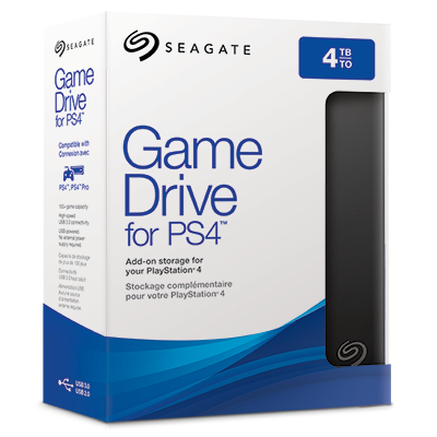 Game Drive for PS4™ systems | Seagate US