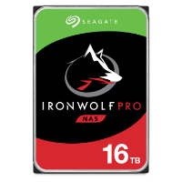 Seagate IronWolf Pro 16TB NASハードディスク・ドライブ製品画像