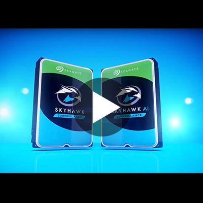 Seagate SkyHawk surveillance family YouTube video screenshot