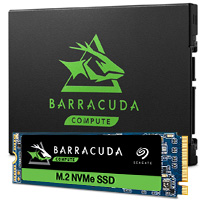Seagate BarraCuda SSD product images