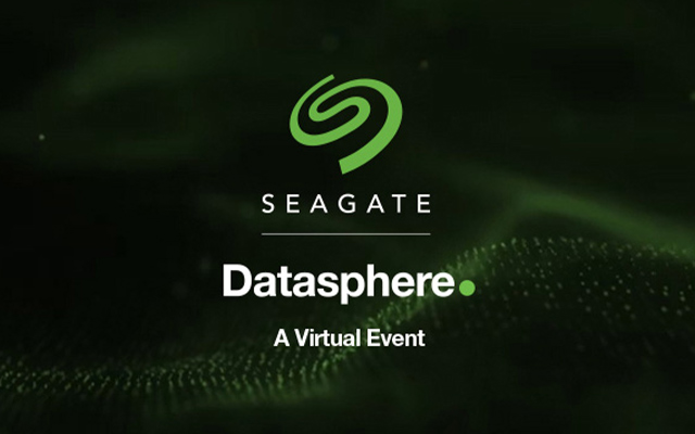 Seagate Datasphere 2020: A Virtual Event Image