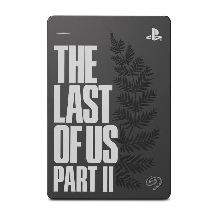 Game Drive for PlayStation Last of Us Part II Limited Edition