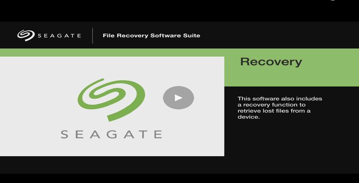 Data Recovery Software | Seagate Australia / New Zealand