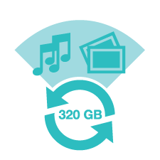 Average Seagate Lab Data Recovery was 320 GB
