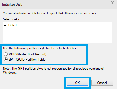 My internal drive is not displayed in My Computer or Windows